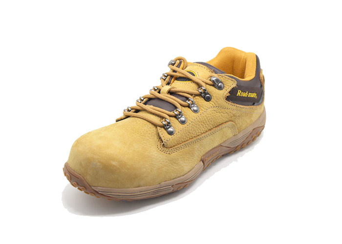 Trendy Keen Gym Sport Safety Shoes With Nubuck Leather Upper Anti Smashing